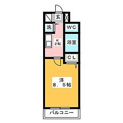 パークコート太宰府[3階]の間取り