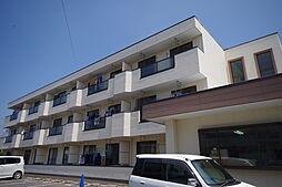 栃木県宇都宮市今泉新町の賃貸マンションの外観