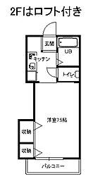リヴィエール湘南II[2階]の間取り