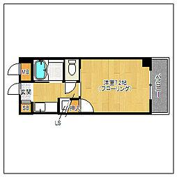 マクシーズ藤崎[203号室]の間取り