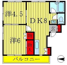 宮内ビル[2階]の間取り
