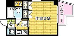 第11片山ビル--[701号室]の間取り
