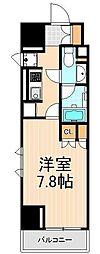 コンフォリア浅草橋[1307号室]の間取り