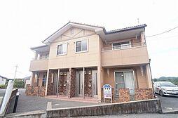 群馬県高崎市吉井町矢田の賃貸アパートの外観