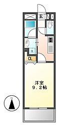 CHIKUSA AVANT-GARDE PLEACE[10階]の間取り