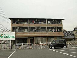 愛知県日進市岩崎町大塚の賃貸マンションの外観
