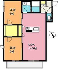 仮)上尾市中妻3丁目新築シャーメゾン[1階]の間取り