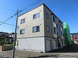 北海道札幌市白石区平和通7丁目北の賃貸アパートの外観