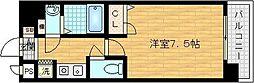 ファミール・リブレ梅田東[8階]の間取り