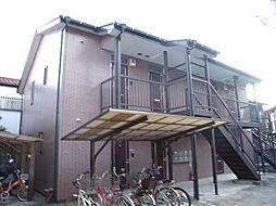神奈川県川崎市中原区苅宿の賃貸アパートの外観