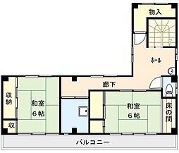 [一戸建] 東京都荒川区東日暮里6丁目 の賃貸【/】の間取り