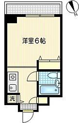 木曽屋第3ビル[3階]の間取り