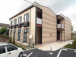埼玉県草加市吉町3丁目の賃貸アパートの外観