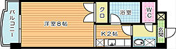 ジュネス壱番館[4階]の間取り