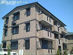 リビングタウン南花田A棟[3階]の外観
