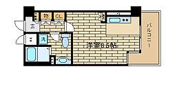 ソフィットクラブ[6階]の間取り
