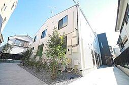 東京都大田区西六郷2丁目の賃貸アパートの外観