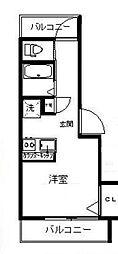 アルバ戸越[2階]の間取り