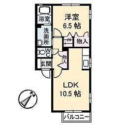 カルムK 2[A202号室]の間取り