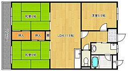 第15上野ビル[4階]の間取り