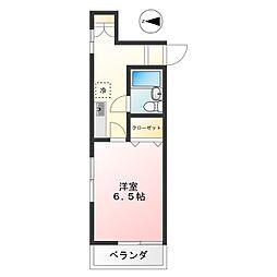 h803[4階]の間取り