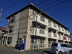 埼玉県越谷市東越谷8丁目の賃貸マンションの外観