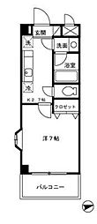 GLOIREMANSION(グロワールマンション)[3階]の間取り
