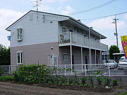 大阪府高槻市辻子2丁目の賃貸アパートの外観