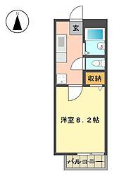 サンガーデン社台[1階]の間取り