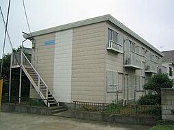 茨城県取手市井野台1丁目の賃貸アパートの外観