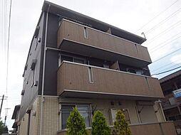 千葉県市川市二俣の賃貸アパートの外観