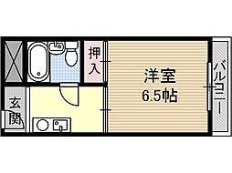 ハイツカメリア[3階]の間取り