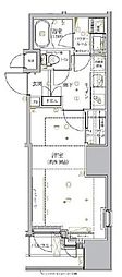 東京メトロ丸ノ内線 淡路町駅 徒歩2分の賃貸マンション 5階1Kの間取り
