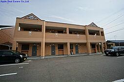 福岡県遠賀郡水巻町猪熊8の賃貸アパートの外観
