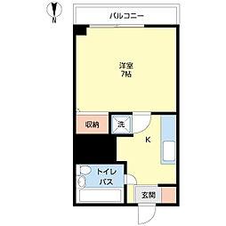 新潟県新潟市中央区西堀前通4番町の賃貸マンションの間取り