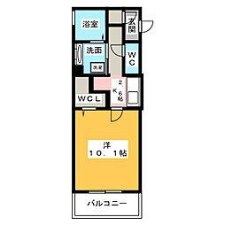 シェノアIV[3階]の間取り
