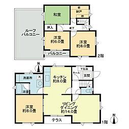 [一戸建] 北海道札幌市北区北三十一条西13丁目 の賃貸【/】の間取り