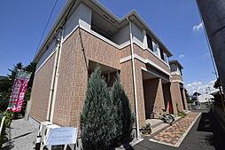栃木県宇都宮市東宝木町の賃貸アパートの外観