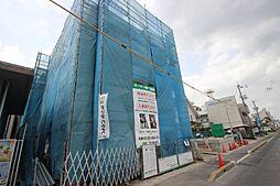 広島県広島市佐伯区坪井1丁目の賃貸アパートの外観