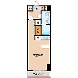 レジディア仙台本町[2階]の間取り