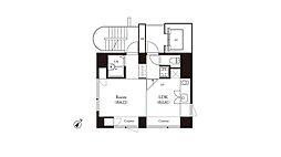 辰巳アパートメントハウス[701号室]の間取り