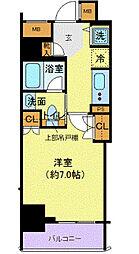 フェルクルール上野駅前(フェルクルールウエノエキマエ)[8階]の間取り