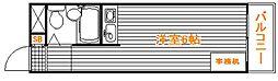 東京都豊島区上池袋1の賃貸マンションの間取り