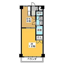 ドリームタウンTAKA[1階]の間取り