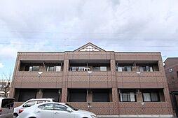 群馬県伊勢崎市粕川町の賃貸アパートの外観