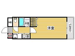 オートアール城南[2階]の間取り