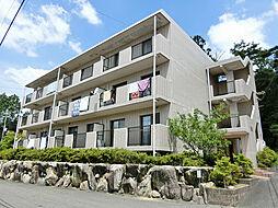 滋賀県甲賀市信楽町牧の賃貸マンションの外観