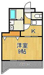 元町ガーデン18[302号室]の間取り