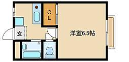 マンションえびす[203号室]の間取り