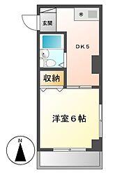 マザック千代田[5階]の間取り
